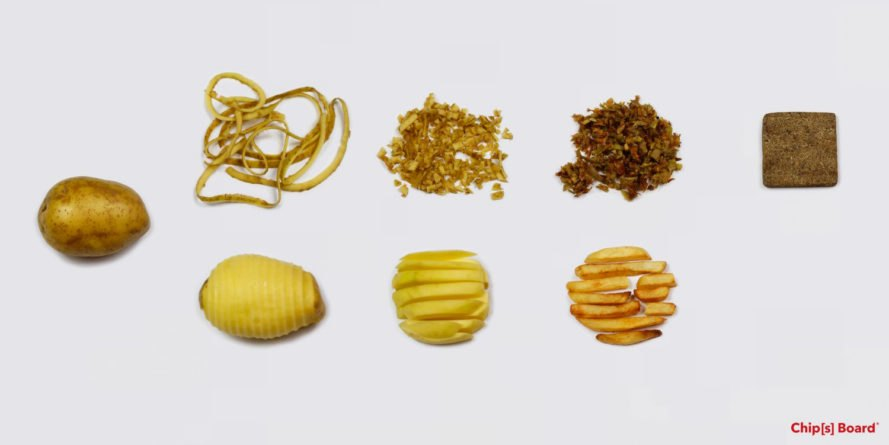 Potato peels offer a sustainable alternative to traditional building materials