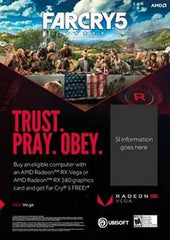 FAR CRY 5 PC STANDARD EDITION al adquirir sistemas preinstalados Radeon