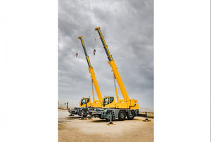 Fast telescoping using rope pull technology for Liebherr LTC 1050-3.1 compact crane