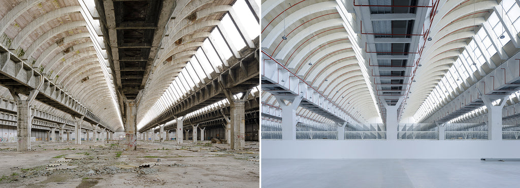 An abandoned factory in southern spain is brought to life by system arquitectura