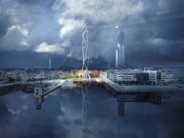 UNStudio's design selected for the Gothenburg Cable Car