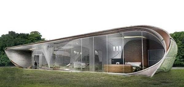 First free-form 3D-printed house could be completed this year