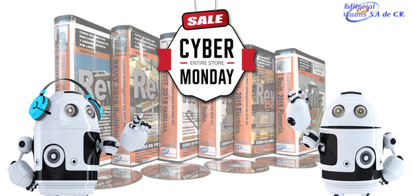 Cyber Monday! -30% en Todos los Cursos en Video