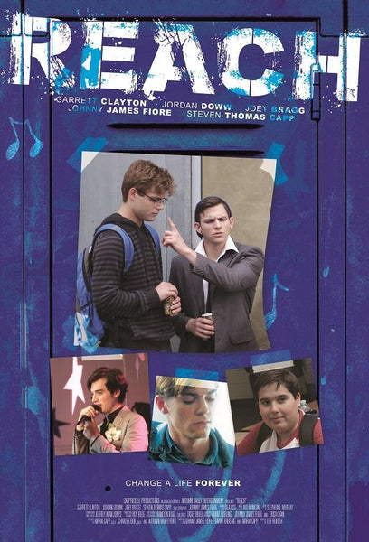 "FIRST POSTER FOR ""REACH"" DEBUTS AT AFM STARRING GARRETT CLAYTON, JORDAN DOWW, AND JOEY BRAGG"