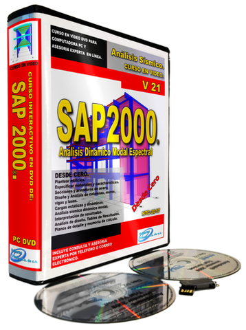 Curso de CSI SAP2000 V21 para Análisis Dinámico Modal Espectral. - Construction Supply Magazine