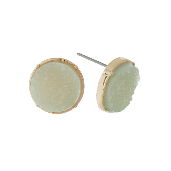 com slp stone amazon earrings green