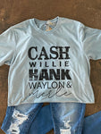 Cash And The Boys Tee
