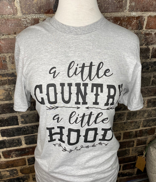 A Little Country A Little Hood T-Shirt