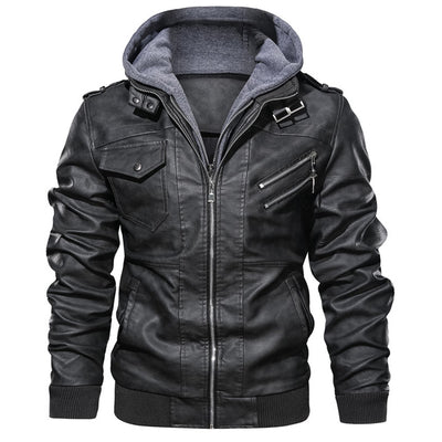 Casual Motorcycle PU Jacket