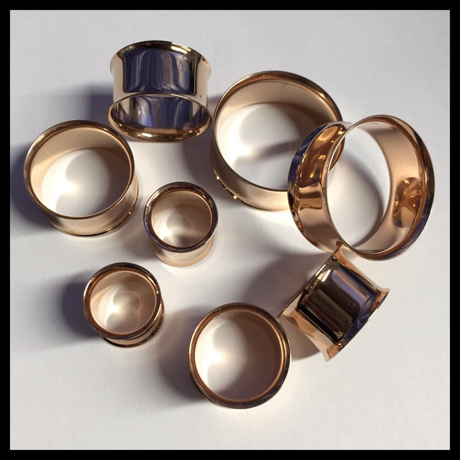 Gold Tunnels Plugs