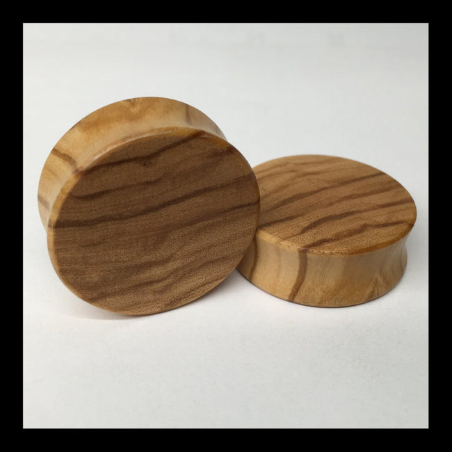 Olivewood Solid Round Plugs
