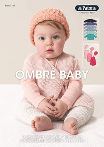 Ombré Baby Booklet