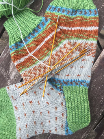 Cuff-Down Socks