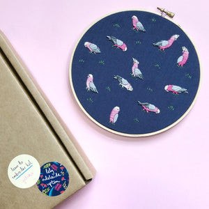 Embroidery Kit - Galah