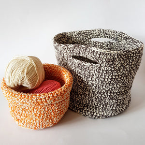 Crochet Basket Kit