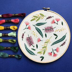 Embroidery Kit - Native Scatter