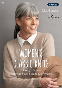 Womens Classic Knits Booklet