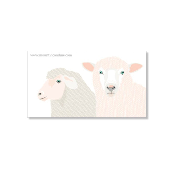 Woolly Sheep Fridge Magnet