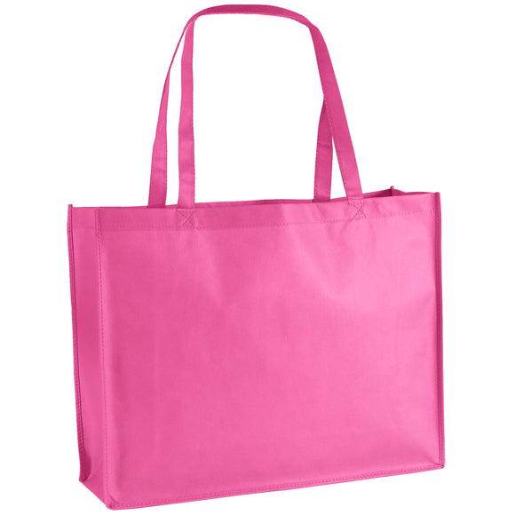 Celebration Tote Bag in Bright Pink George