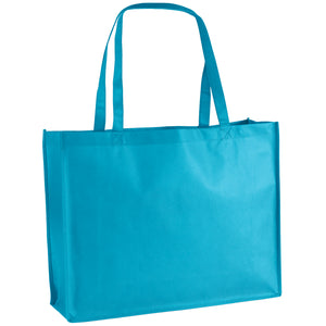Celebration Tote Bag in Bright Blue George