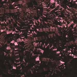 Crinkle Cut Shred - Burgundy