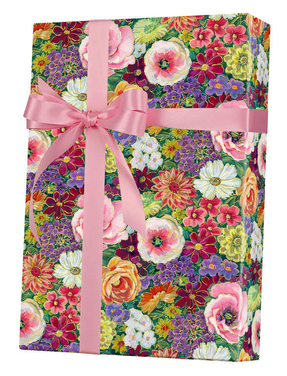 Always In Bloom Gift Wrap