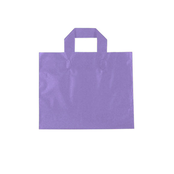 Ameritote Plastic Shopping Bags - Purple Grape - 12