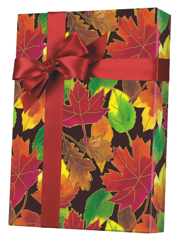 Autumn Leaves Gift Wrap