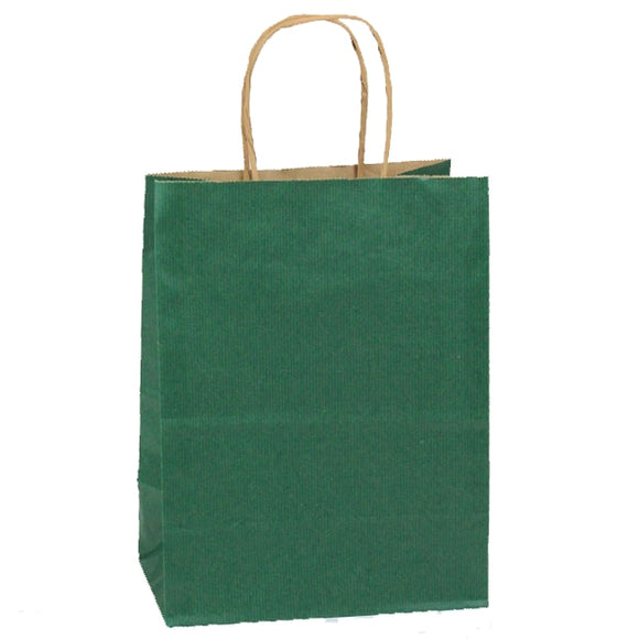 Shadow Stripe Shoppers - Forest Green - 8