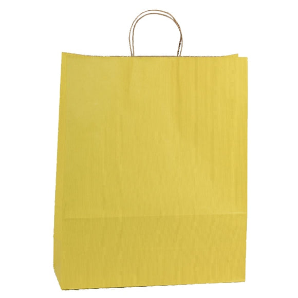 Shadow Stripe Shoppers - Mellow Yellow - 16