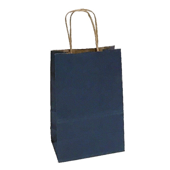 Shadow Stripe Shoppers - Navy Blue - 5-1/2