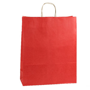 "Shadow Stripe Shoppers - Really Red - 16"" x 6"" x 19-1/4"""