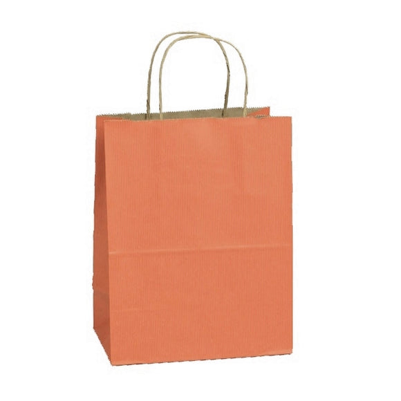 Shadow Stripe Shoppers - Terra Cotta - 8