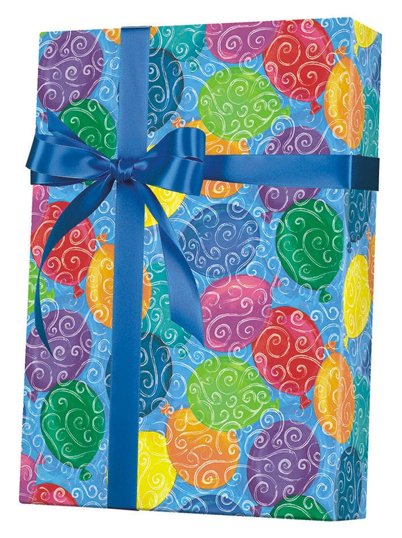 Balloons Galore Gift Wrap