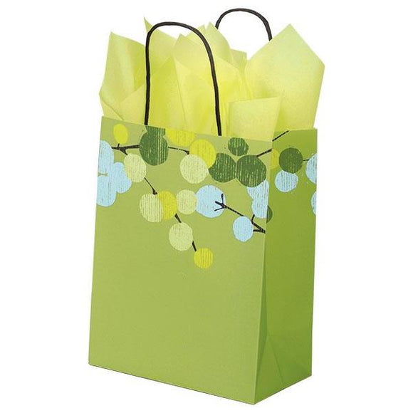 Berry Branches Shopping Bags