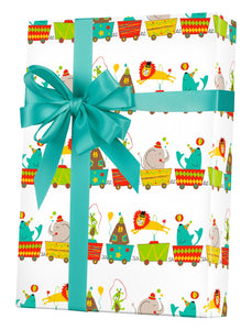 Big Top Circus Gift Wrap
