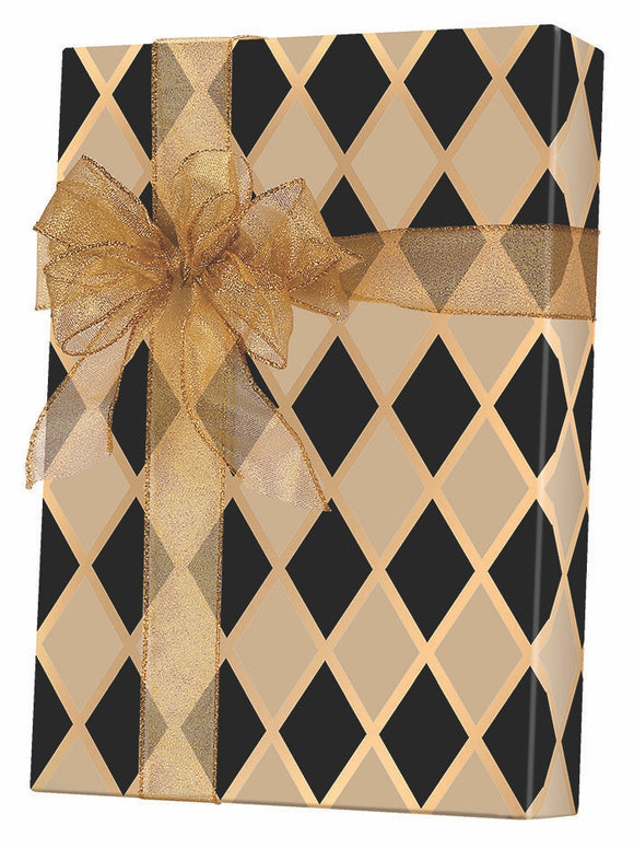 Black Diamonds Gift Wrap