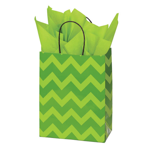 Bold Citrus Shopping Bags