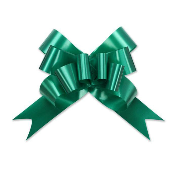 Splendorette Pull Bow - Butterfly - Emerald - 2 Sizes