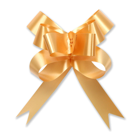 Splendorette Pull Bow - Butterfly - Gold - 2 Sizes