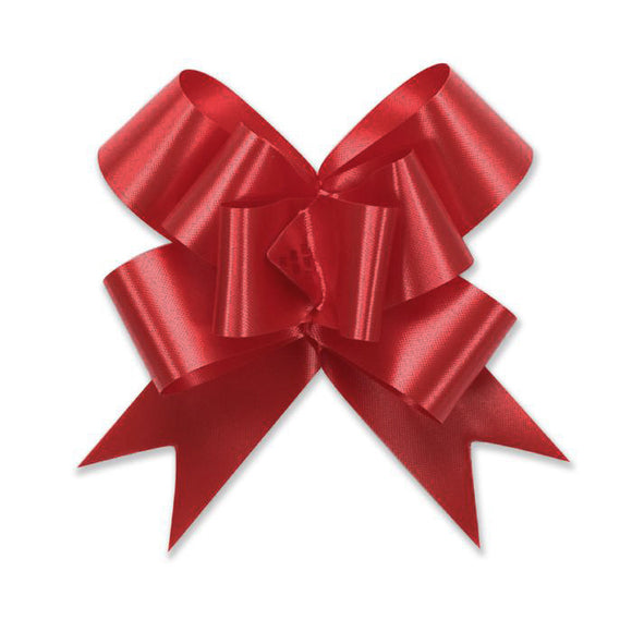 Splendorette Pull Bow - Butterfly - Lava Red - 3 Sizes