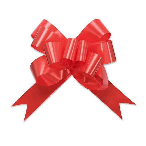 Splendorette Pull Bow - Butterfly - Red - 3 Sizes
