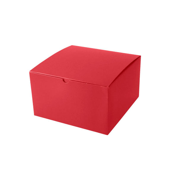 Gift Boxes - Holiday Red Gloss - 10