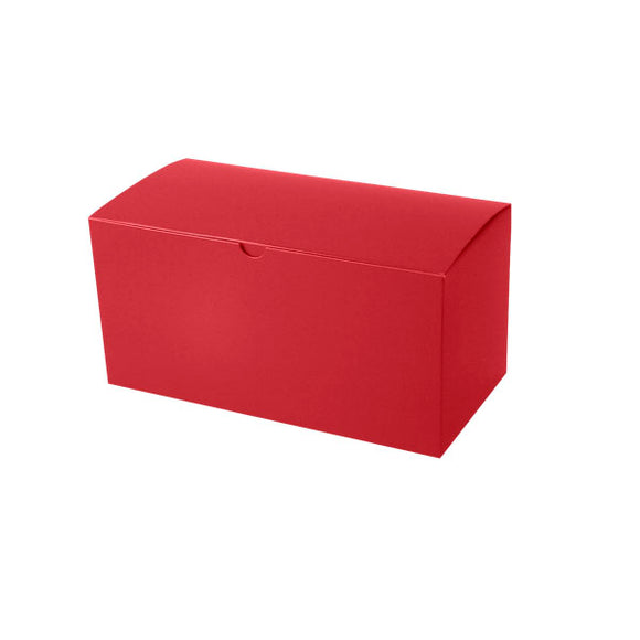 Gift Boxes - Holiday Red Gloss - 12