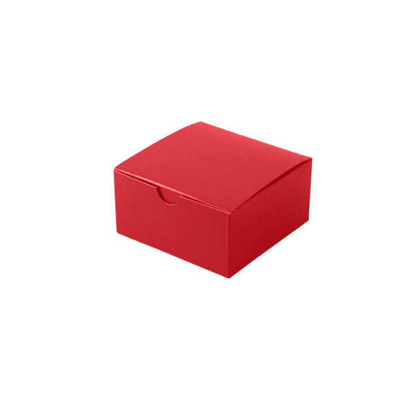 Gift Boxes - Holiday Red Gloss - 4