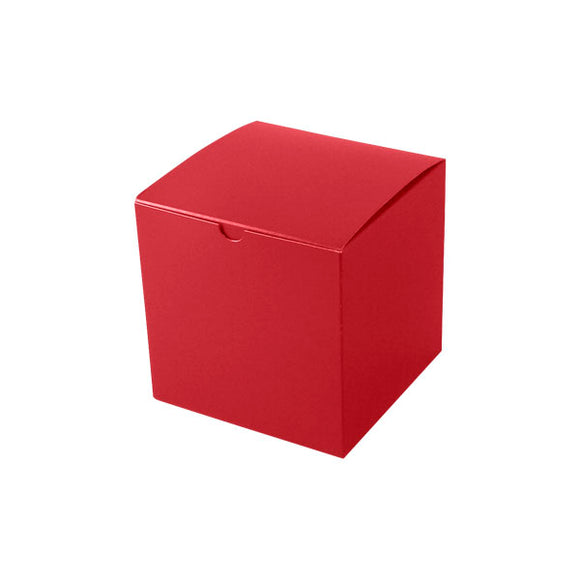 Gift Boxes - Holiday Red Gloss - 6