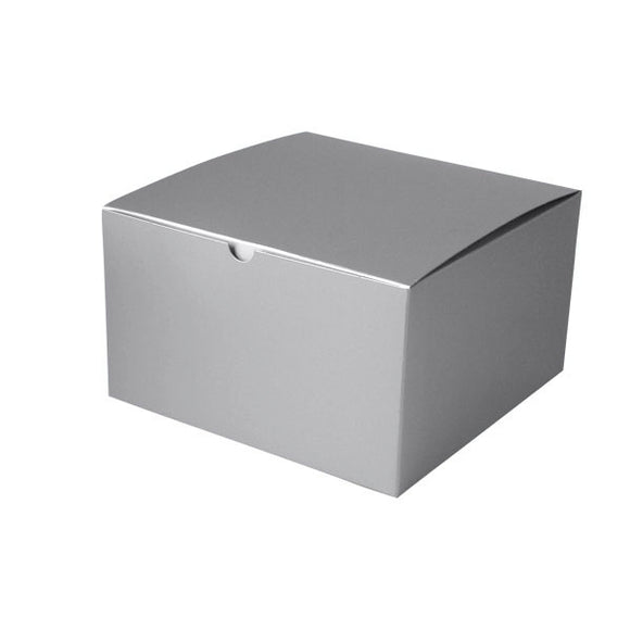 Gift Boxes - Silver Gloss - 10
