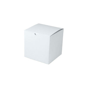 "Gift Boxes - White Gloss - 6"" x 6"" x 6"""