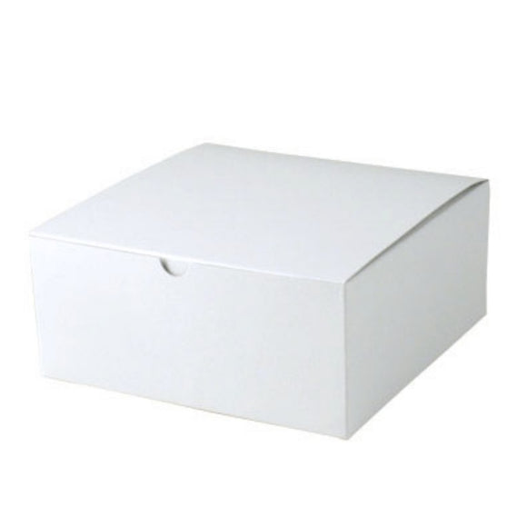 Gift Boxes - White Gloss - 8-1/2