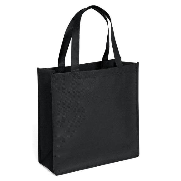 Celebration Tote Bag in Black Abe